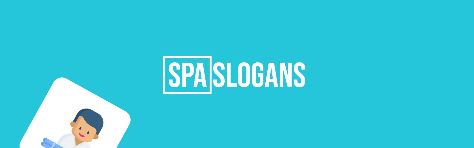 spa slogans taglines