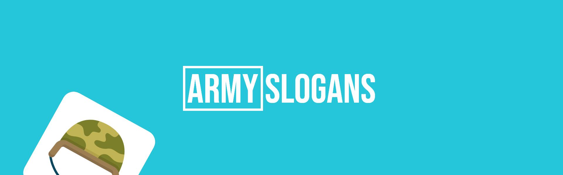 army slogans taglines