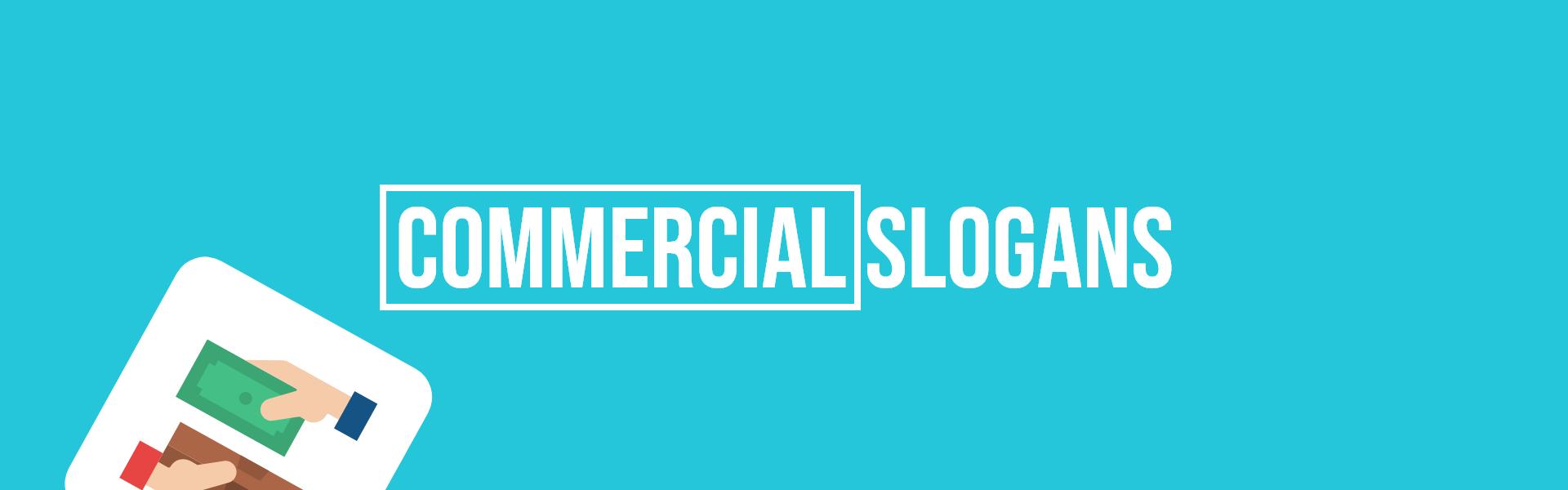 commercial slogans taglines