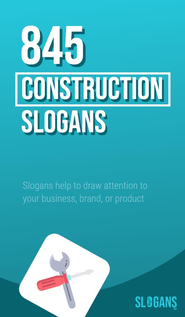 construction slogans taglines – thumb