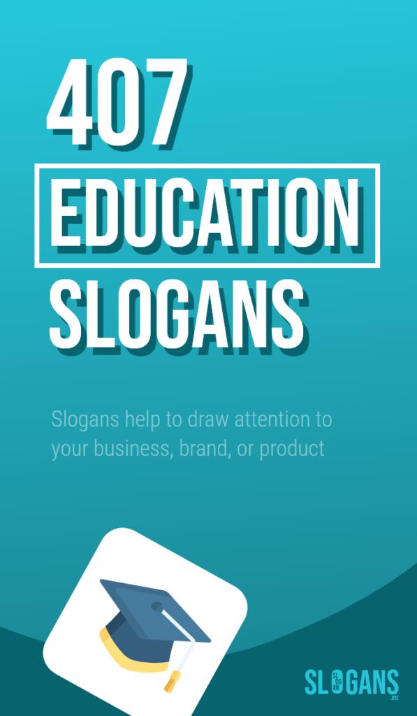 education slogans taglines – thumb