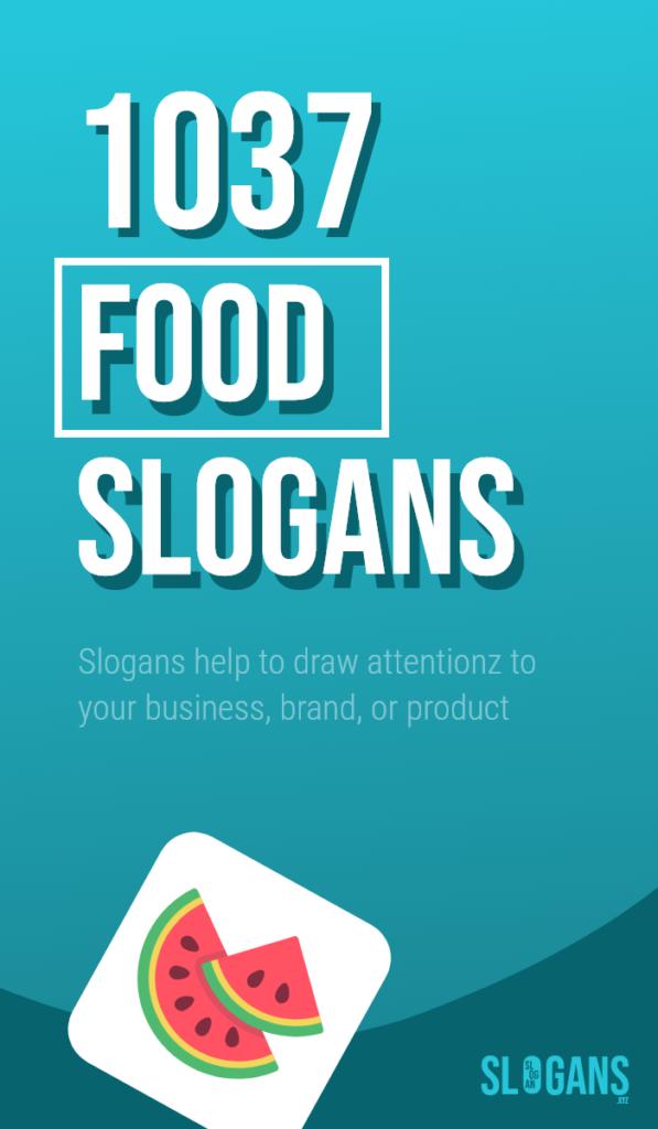 food slogans taglines – thumb