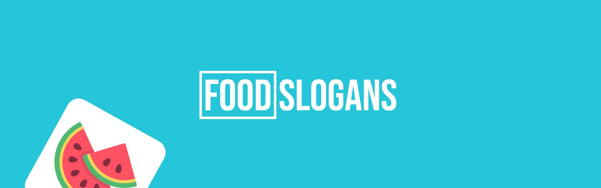 food slogans taglines