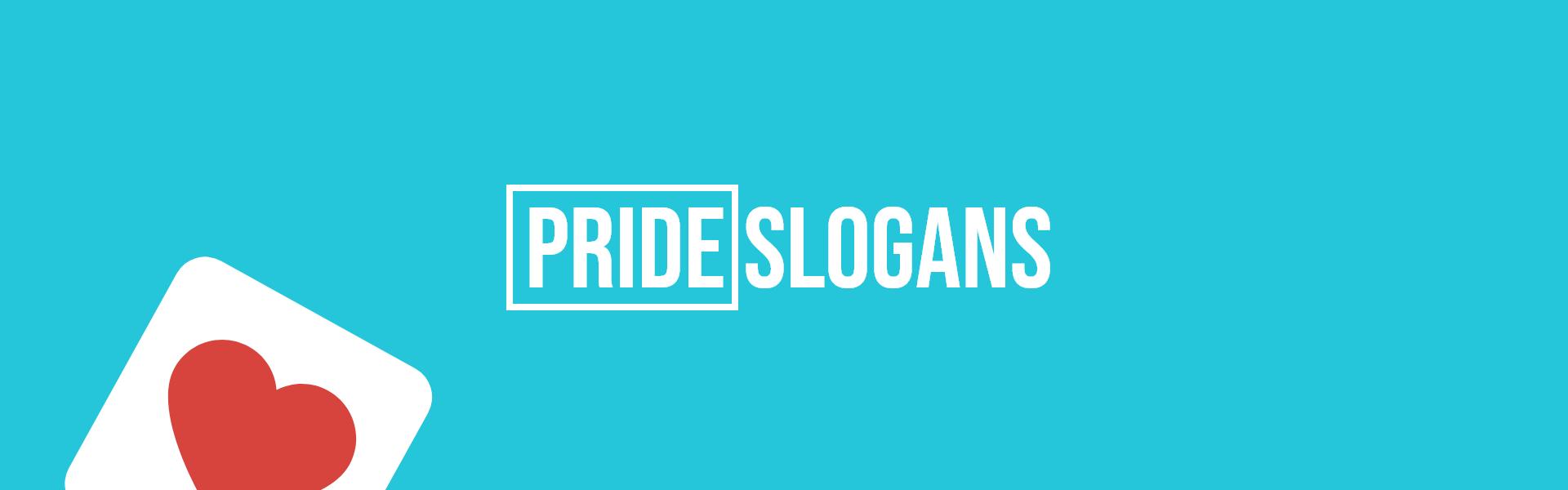 pride slogans taglines