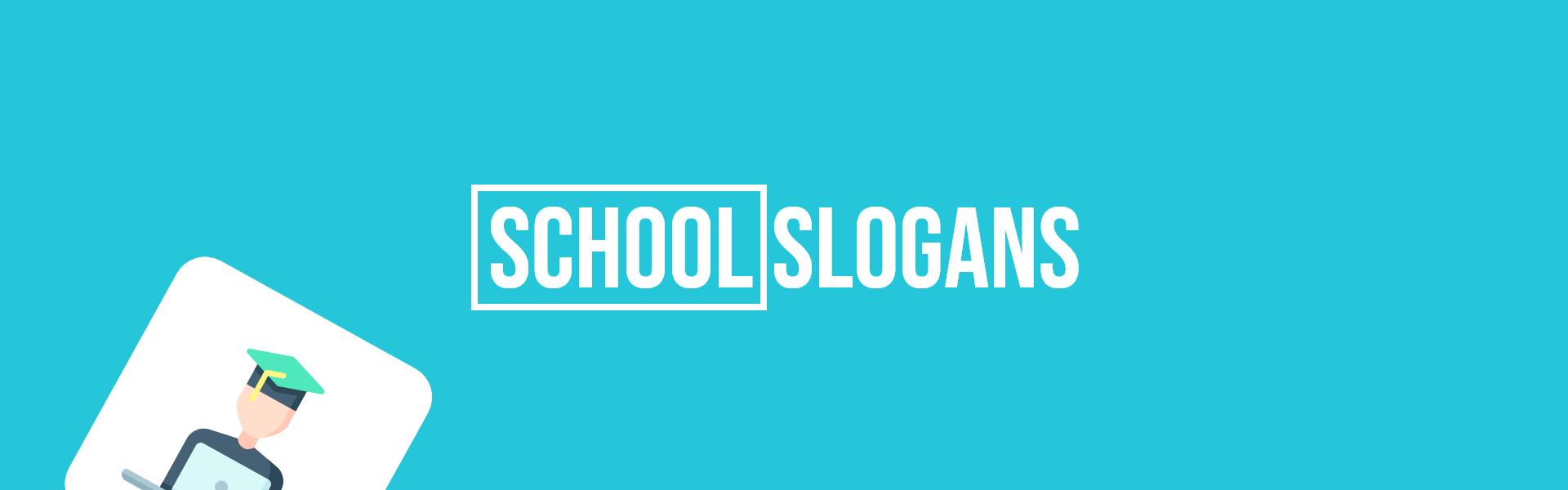 school slogans taglines