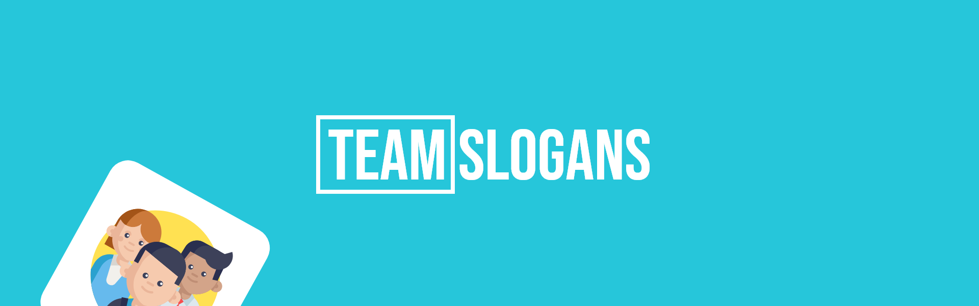 team slogans taglines