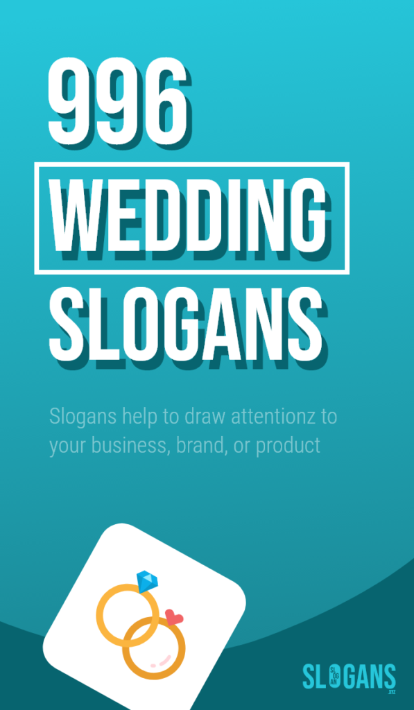 wedding slogans taglines – thumb